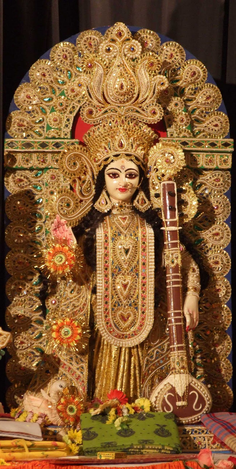 an analysis of the worship of durga in india