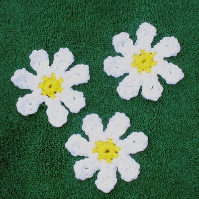 Crochet Pattern Fine Thread Crochet Flowers and by JadeRoseCrochet