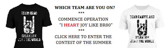 Operation I HEART Joy like BR8O