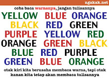 Read the word colour...