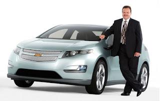 Chevy Volt with Vehicle Line Tony Posawatz, Volt vehicle line executive