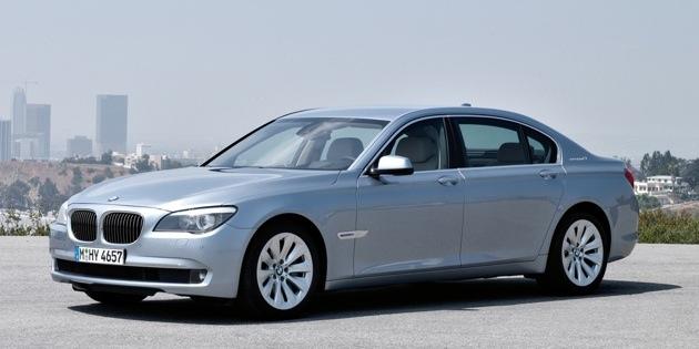The 2011 BMW ActiveHybrid 7