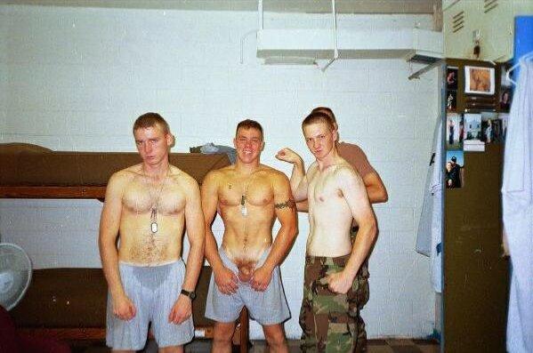 Redneck rough hairy men naked