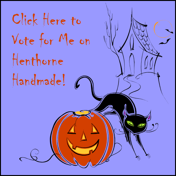 Vote for the winner of the Recycled Halloween Craft Challenge on Henthorne Handmade!