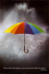 Bajo mi paraguas veo la vida con otros ojos.