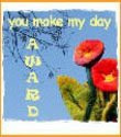 YOU MAKE MY DAY - AWARD