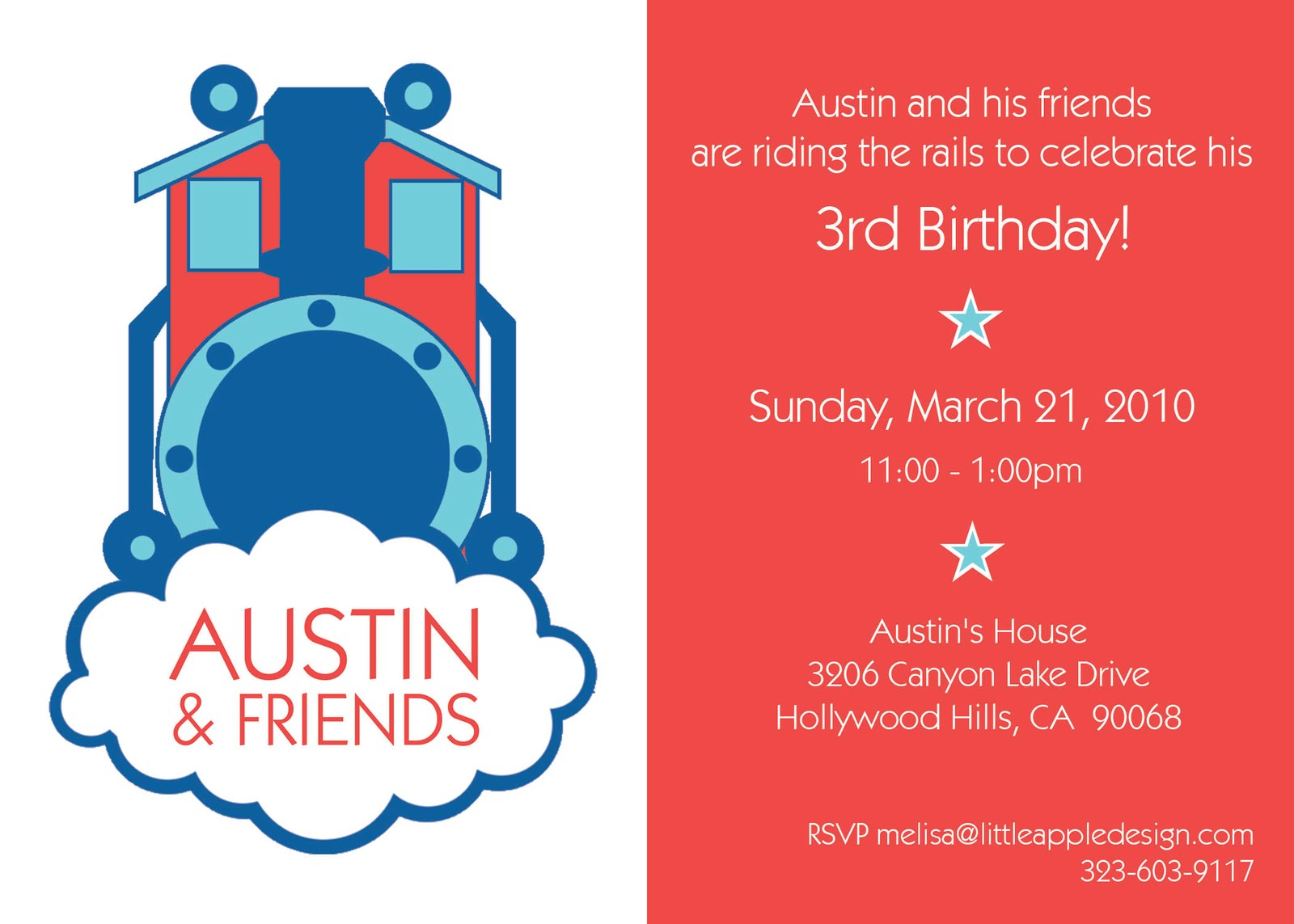 Famous Train Invitations Birthday Composition - Invitations and ...