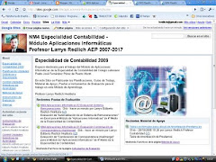 Sitio Web A. Informática Especialidad Contabilidad
