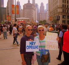 At the Oprah Taping
