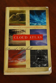 My dog-eared ARC of Cloud Atlas