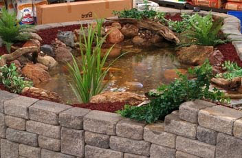 Landscape design gardens in pa nj ct september 2009 for Indoor fish pond ideas