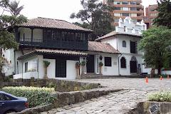 Parque Chicó al norte de Bogotá