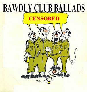 Cover Album of Bawdy Club Ballads