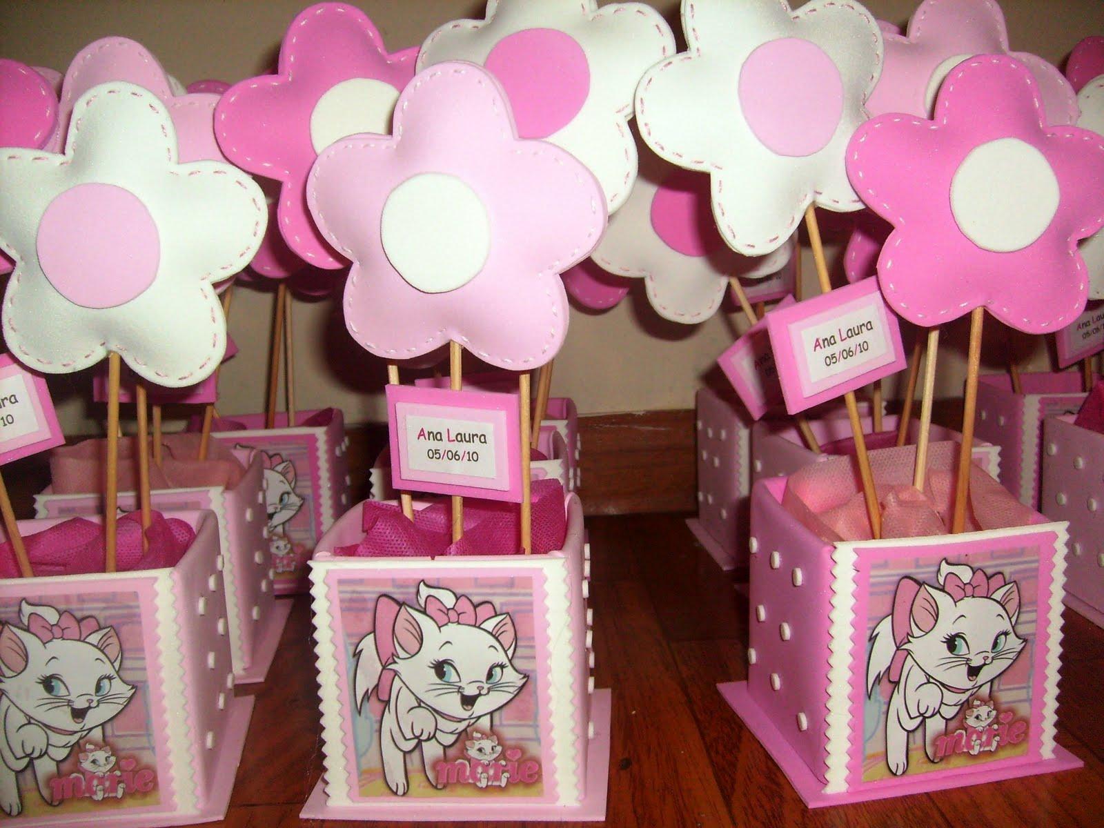 Decoracao Festa Aniversario Gatinha Marie
