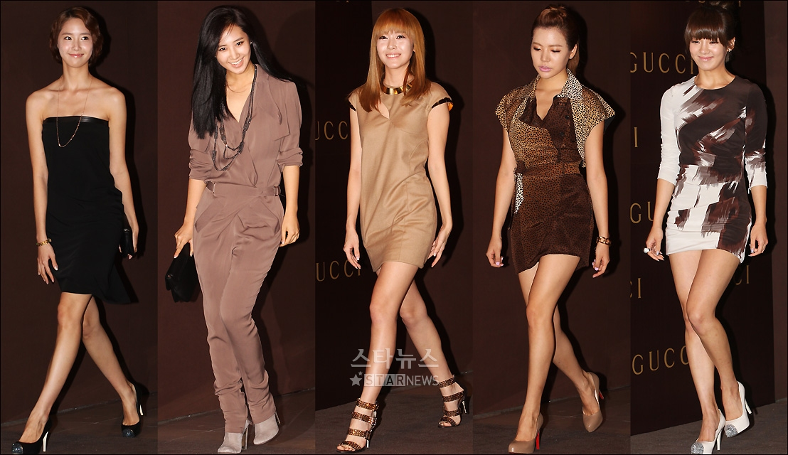 SNSD's Yoona, Yuri, Jessica, Sunny and Hyoyeon came as guests to the