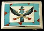 Zuni Knife Wing Buckle