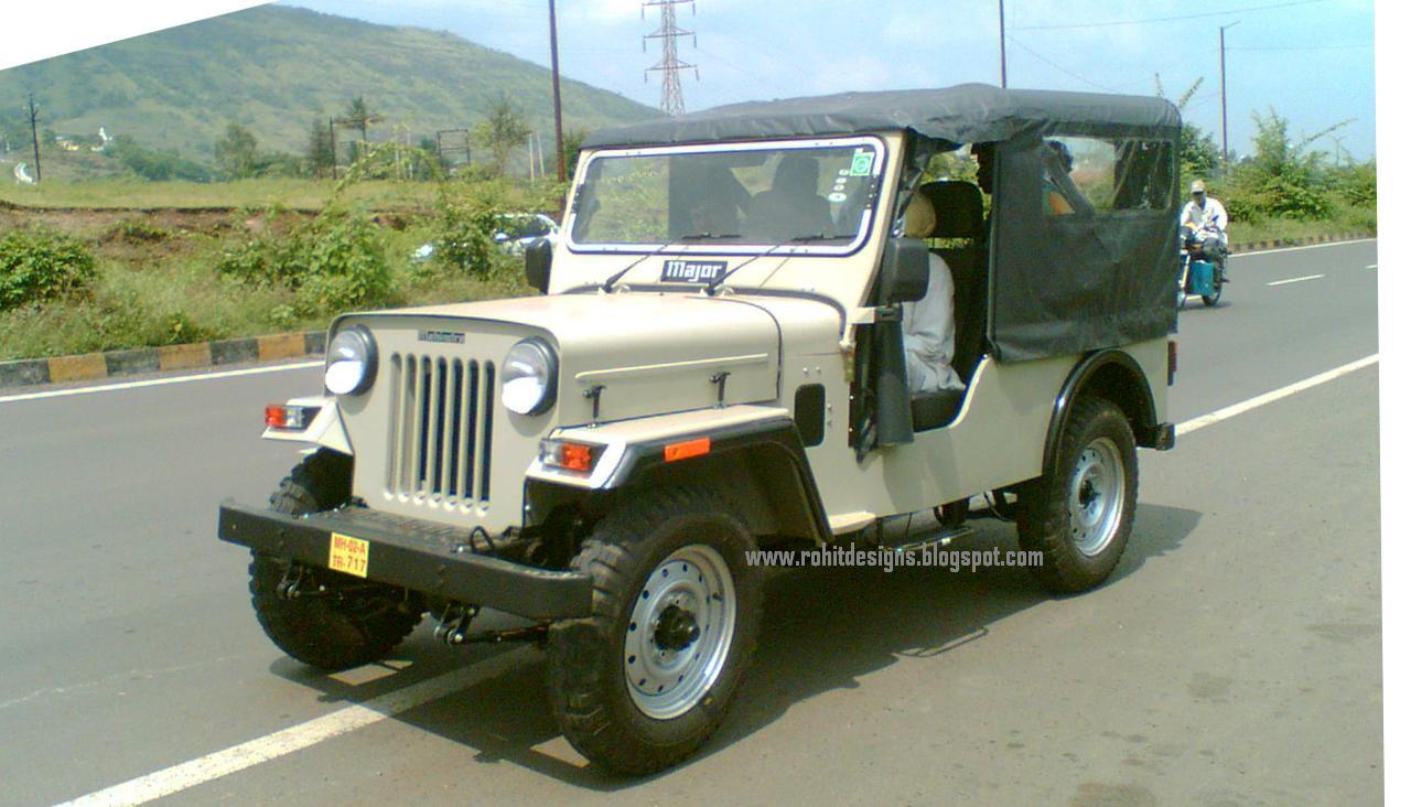 Mahindra Major Jeep
