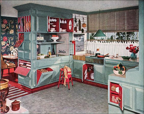 whispered whimsy vintage i will have a retro kitchen. Black Bedroom Furniture Sets. Home Design Ideas