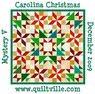 Carolina Christmas Mystery Quilt