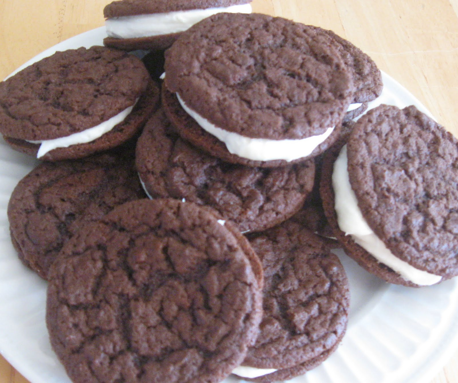 The Marriage of Ingredients: Homemade Oreo Cookies