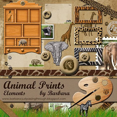 Animal Prints Elements