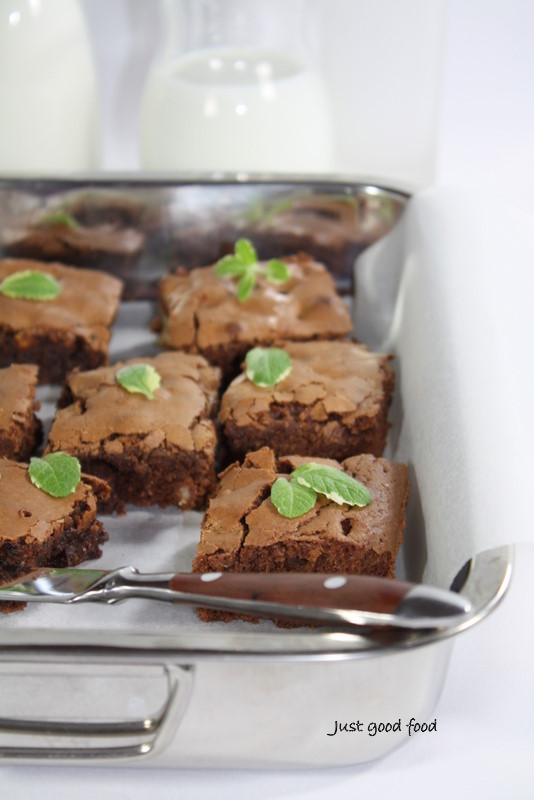 Brownies s orasima
