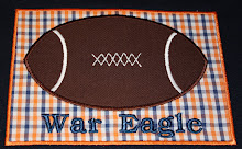 AC Auburn football patch