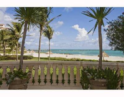 Fisher Island condo - view from condo on Fisher Island,in Miami Beach Florida