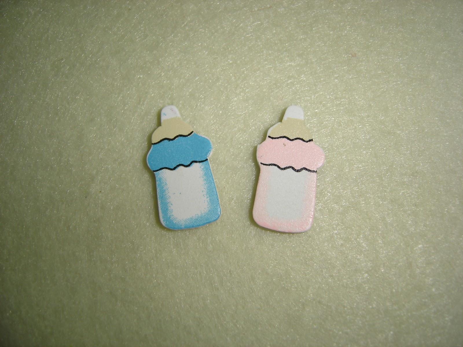 Apliques biberões 0 30 koisas (cada) disponíveis em rosa e azul #3E7A8D 1600x1200