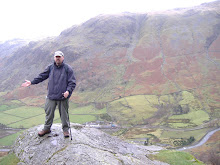 My mate Lee above Seathwaite in Cumbria