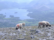 Derwent Water & Keswick from Skiddaw in Cumbria
