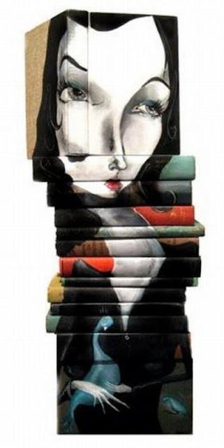 فن الرسم على أغلفة الكتب-الفنون-منتهى