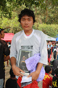 Winner of the last Downhill Race Bukit Cermin