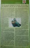 Publicado en Diario La Razón. Lima