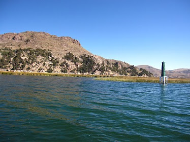 El Lago Titicaca compartido con Bolivia