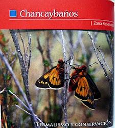 """Zona reservada """"Chancaybaños"""" (Termalismo y conservación)"""
