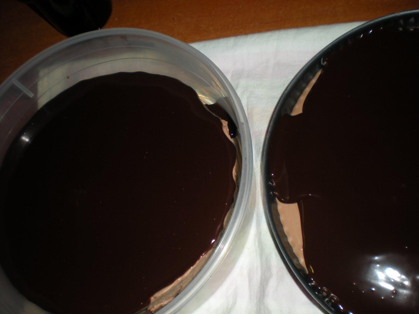 Chocolate-Glazed Hazelnut Mousse Cake Recipes — Dishmaps