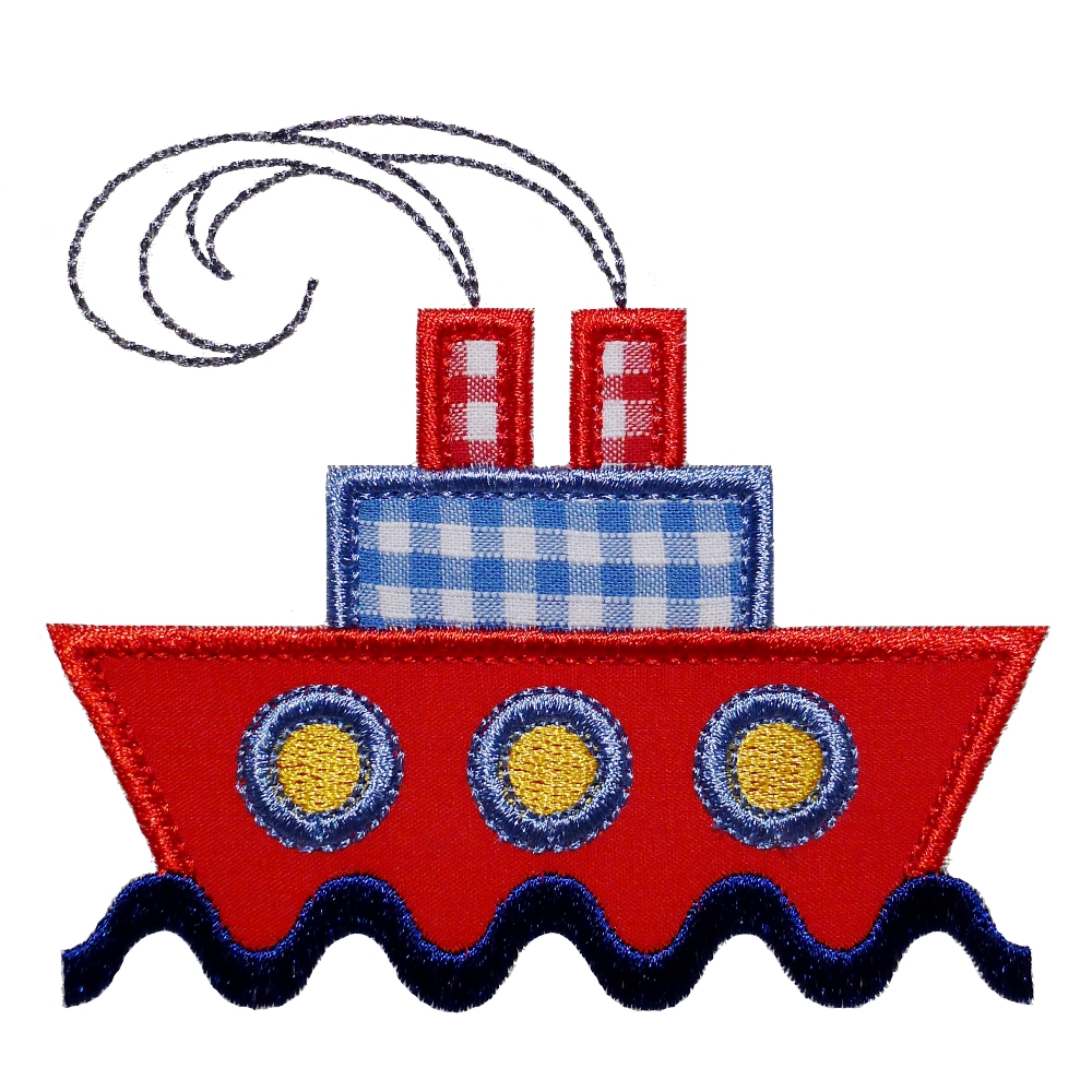 Big Dreams Embroidery: SHIP AHOY! Machine Embroidery ...