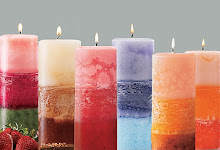 Layered Pillar Candles
