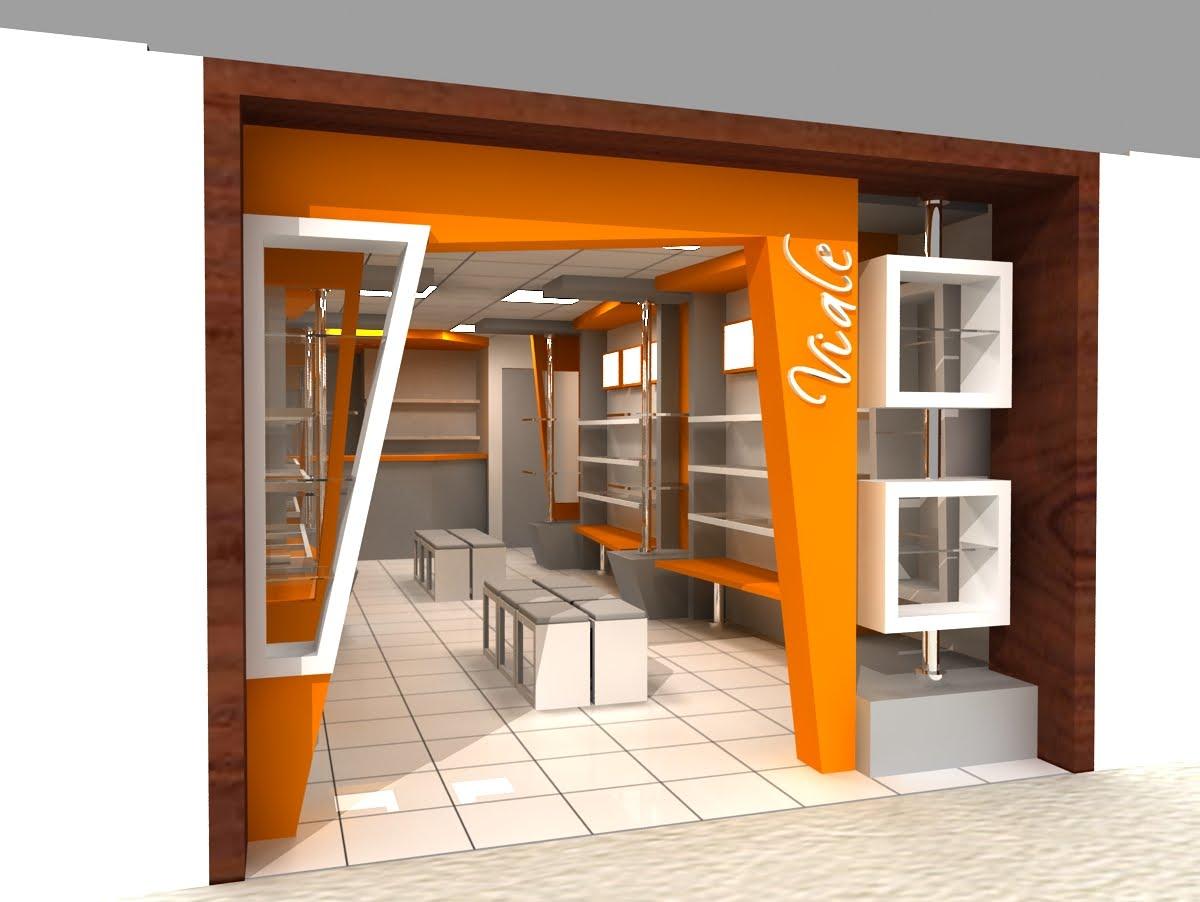 Dise o de interiores for Diseno locales comerciales
