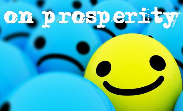 on prosperity