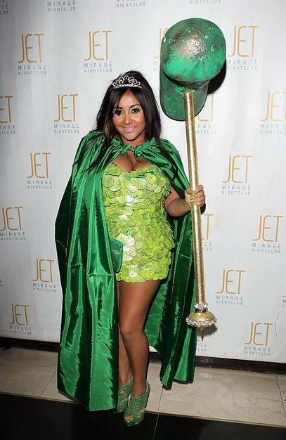 celebrities in craziest halloween costumes 2010