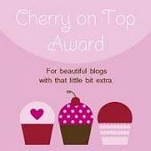 A Cherry On Top Award