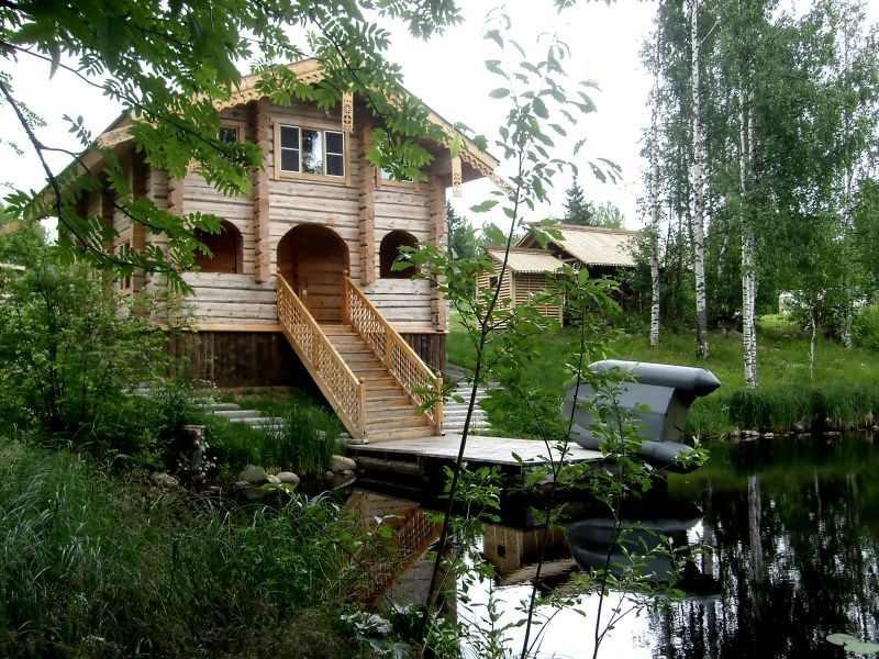 мошенников чаще домик у озера карелия памятаю