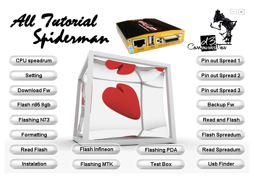 All About Mobile Phone  Spiderman Box Flasher Video Tutorials