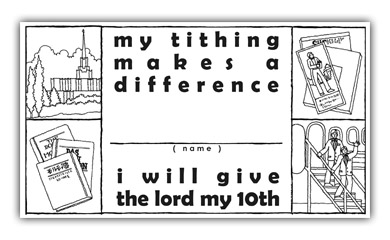 A Year Of FHE 01 Lesson 45 Paying Tithing