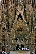 La Sagrada Familia Entrance Barcelona