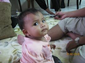 Zahra 9 bulan