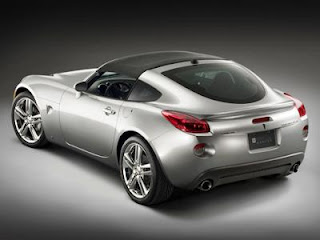 Pontiac Solstice Coupe. An autumn coupe