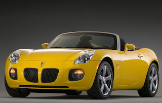 Pontiac Solstice. Roadster people